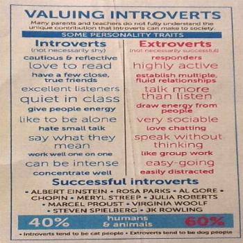 Introverts and extroverts compared. - Introverts and extroverts compared. La mejor imagen sobre  he