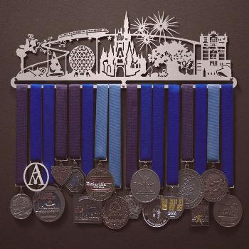 Magic World | Sport & Running Medal Displays | The Original Stainless Steel Medal Display