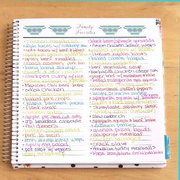 Meal Planning Made Easy – Limelife Planners