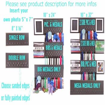 Medals Display Rack to show you're achievement, MEDALS, sport medal holder, medal hanger, sports ho