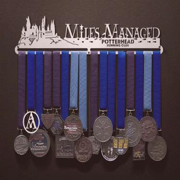 Potterhead Running Club - Miles Managed - Castle Edition! | Sport & Running Medal Displays | The Or