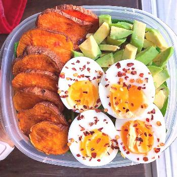"""SIA   FITNESS WORKOUTS RECIPES on Instagram: """"Meal Prep Breakfast ? The simplest breakfast eve"""